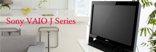 Sony VAIO J series released Desktop PC, touch screen HD robust performance image
