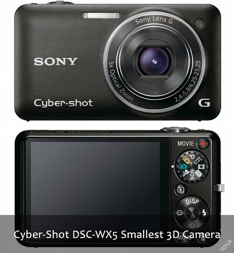 Sony launches Cyber Shot World's lightest 3D cameras models TX9 and WX5 with features like 3D panorama, Superior Quality Mode, Background Defocus, skin tone