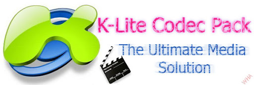 K-Lite Mega/Full/standard/Basic/corporate/64bit The ultimate collection of Popular and rare codec/filter and a lot more
