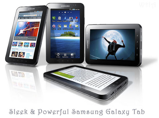 GADGET,Samsung Launches Galaxy Tab-iPad Alternative-Tablet Runs Android Froyo launching in india soon OS+mobile image