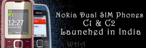 GADGET, mobile, PHONE, Nokia Mobile, Voice Commands, India, Nokia C1, Nokia C2, Dual SIM, Dual Standby, Dual SIM Phone, Messaging, GPRS free  C1-00, C1-01, C1-02 +mobile image