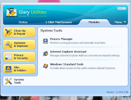 Glary Utilities-Ultimate System Maintenance & Security Solution-Download Free process manager