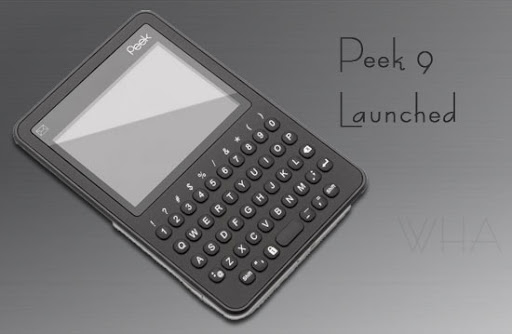 GADGET,Peek 9 Launched With Twitter-Facebook-Weather-PeekMaps-Texting-RSS+Email image