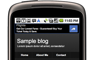 Blogger Introduces Mobile Template For Blogger Blogs, Read On Go! thumb icon