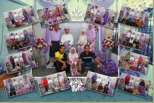 family big collage