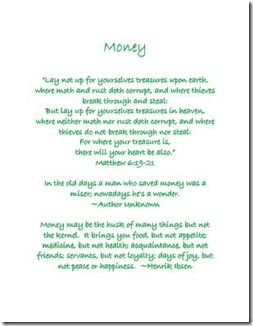 Household Planner Money title Medium