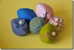 fillable fabric eggs