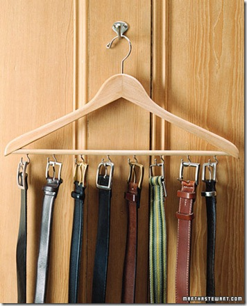dad's belt rack