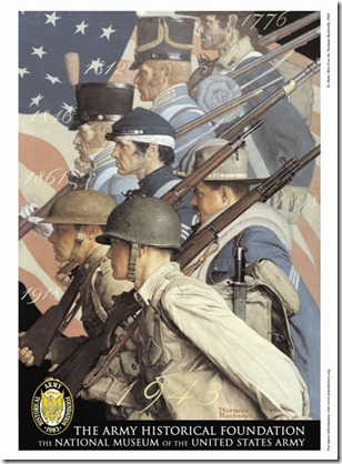 norman rockwell Army