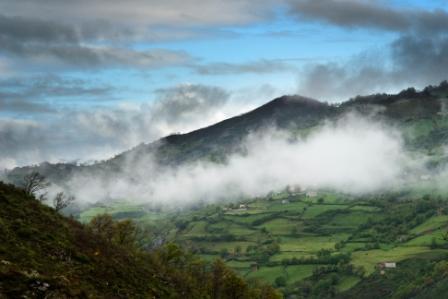 Camino de Santiago: Etapa Payares - La Pola (Camino del Verano)