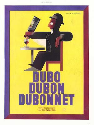 Souvenirs furtifs dans Poème dubonnet_1933_cassandre-vertical