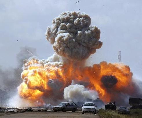 mortes em libia