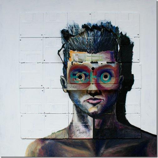 Arte com disquetes more freak show blog (5)