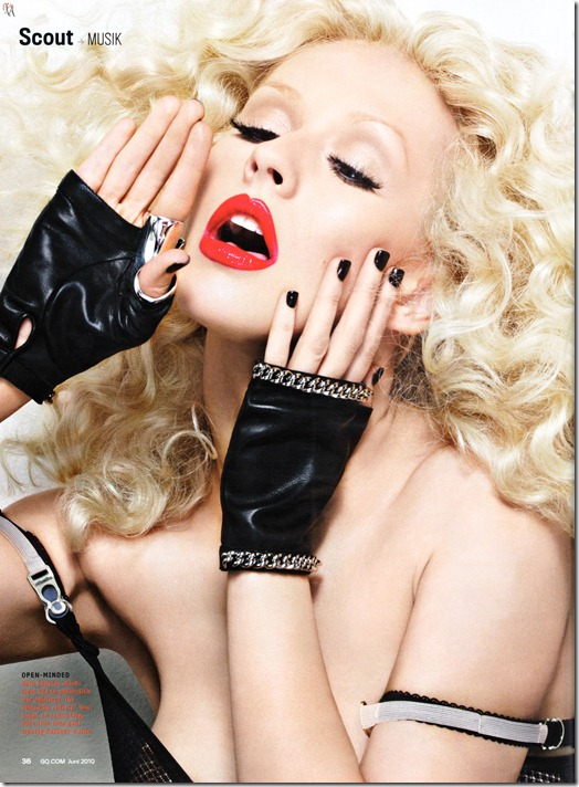 Christina Aguilera X-tina GQ Alemã by Alix Malka  (3)