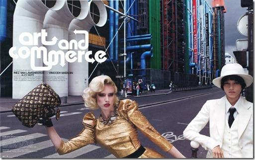 Editorial Art e Comerce W Magazine out 2009 1