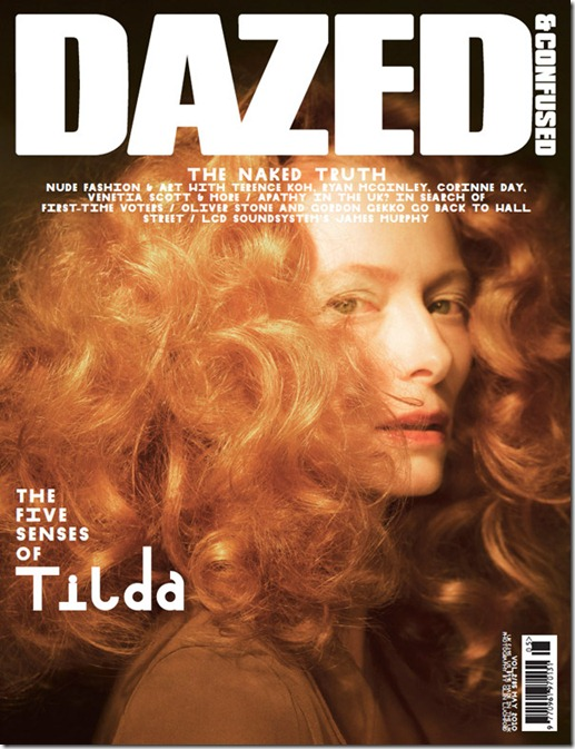 tilda cover dazed e confused magazina more freak show blog (1)