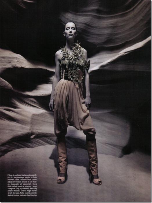 Vogue Italia beauty editorial arte, more freak show blog (5)