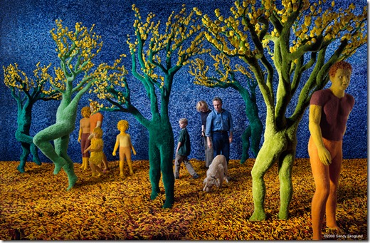 A arte de Sandy Skoglund (more freak show blog) (1)