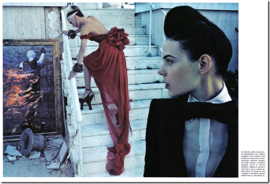 The Honourable Daphne Guinness Vogue Italia  (9) Steven Klein Fotos Hq