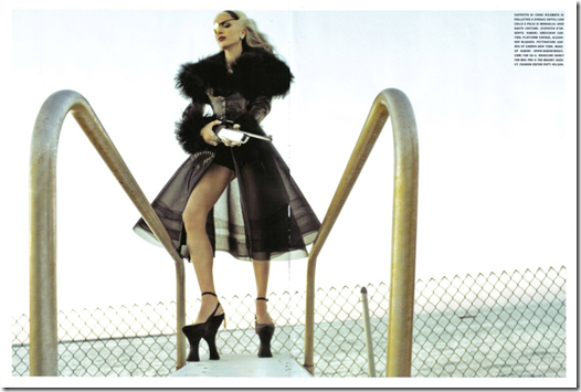 The Honourable Daphne Guinness Vogue Italia  (7) Steven Klein Fotos Hq