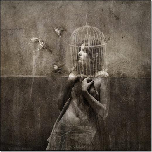 Foto manipulação dark e surreal Andreea Anghel's (1)
