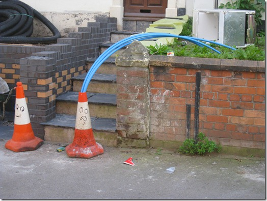 Intervenção Urbana filthy luker