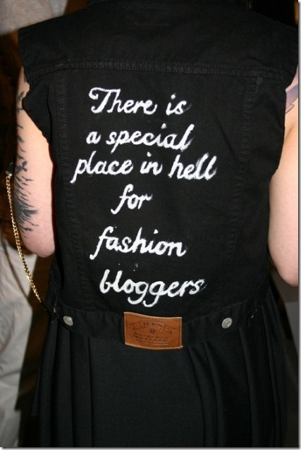 fashion bloggers from Hell