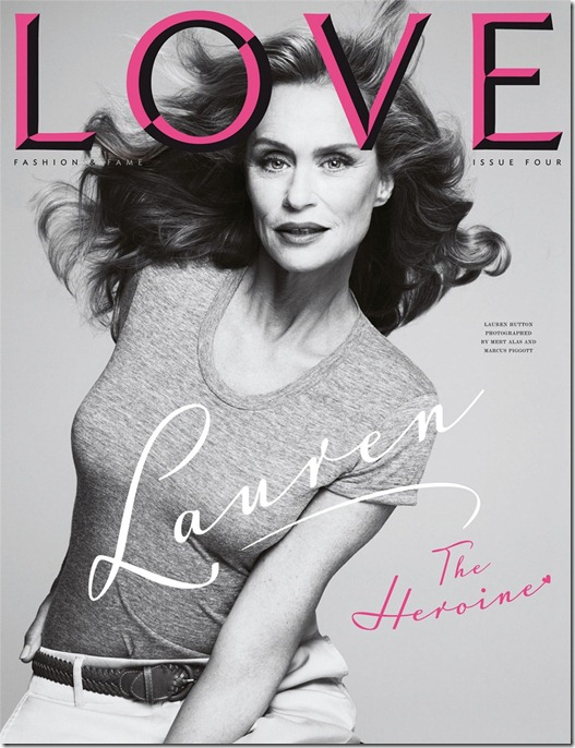 Lauren Hutton Heroine love magazine