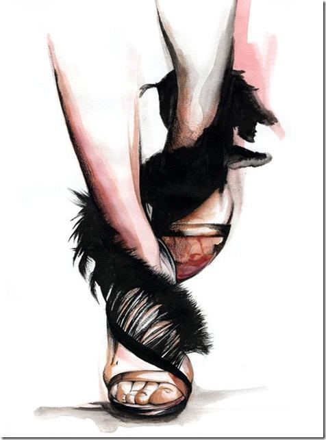 Fashion Ilustração  Caroline Andrieu  Portfólio (1)
