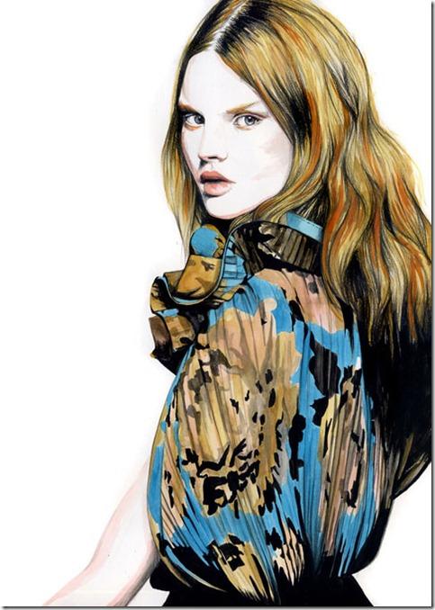 Fashion Ilustração  Caroline Andrieu  Portfólio (8)