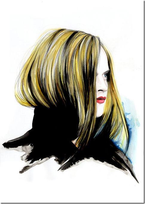 Fashion Ilustração  Caroline Andrieu  Portfólio (11)