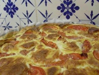 tarte tomates boursin entière