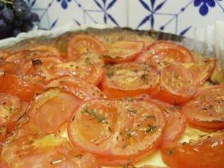 tarte ricotta tomates entière
