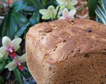 pain raisin entier