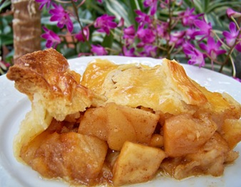 apple pie assiette