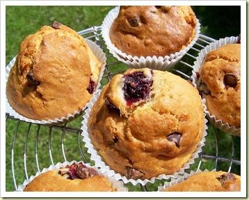 muffins cerise choco1