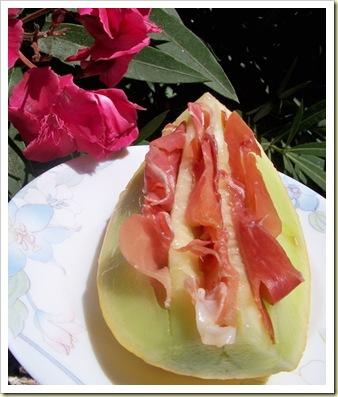 chiffonade melon