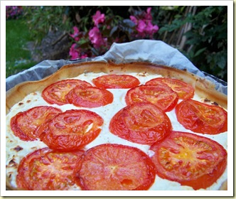 tarte brick tomate pistou ricotta