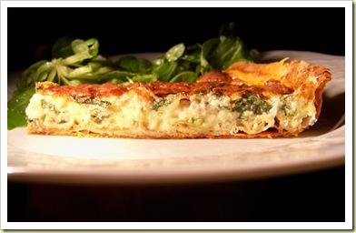 tarte épinards gorgonzola 2