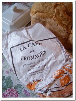 papier La cave aux fromages