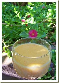 crème à l'abricot