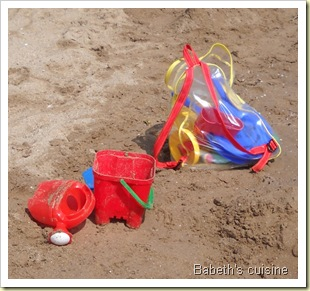 jouets de plage