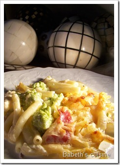 gratin ptes chou romanesco pancetta 2
