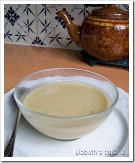 soupe endives courgettes oignons