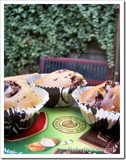 muffins chocolat noisettes raisins secs2