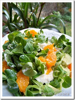 salade vitaminée improvisée
