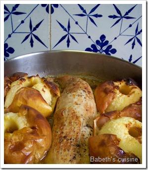 filet mignon curry pommes après cuisson