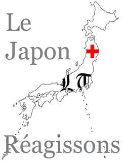 The Official Lycée Times Japan Disaster logo