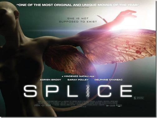 As much as I enjoyed Vincenzo Natali's Sci-fi Horror hybrid, Splice, ...
