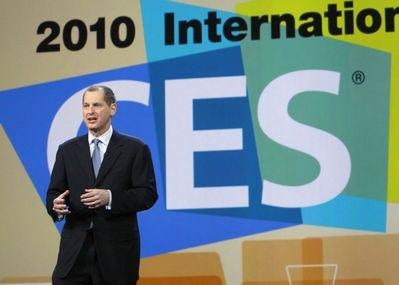 Gary Shapiro at 2010 International CES Show